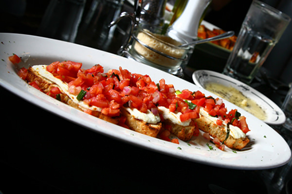 Johnny's Betta Bruschetta